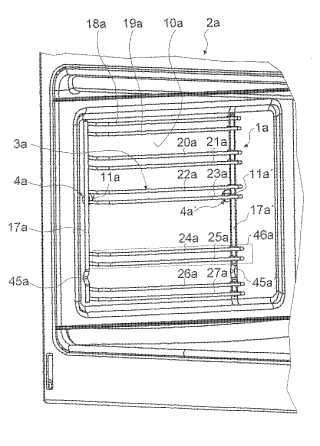 Dispositivo de soporte, en particular para un aparato de cocción.