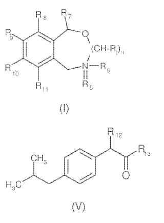 Combinación sinérgica de compuestos analgésicos.