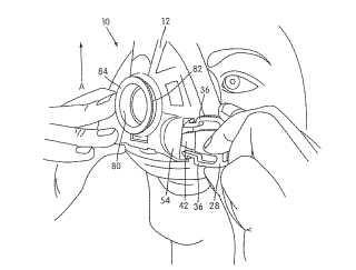 Montaje de conexión de aparejo para un conjunto de máscara respiratoria.