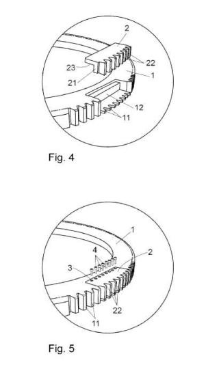 Método para la reparación 'in situ' de coronas dentadas.