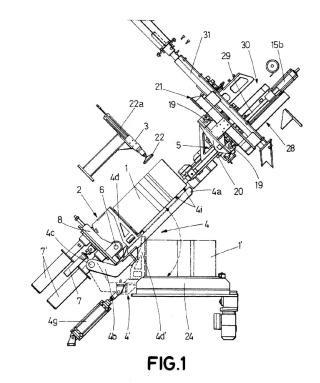 Procedimiento y máquina de labrado de piezas de pizarra.