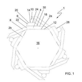 Pieza laminar para montar poliedros, poliedro y procedimiento de montaje correspondientes.
