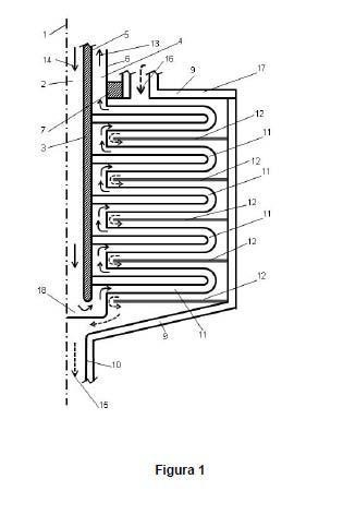Intercambiador de calor rotativo.