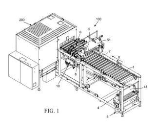 Máquina envolvedora de productos y método de operación para una máquina envolvedora de productos.