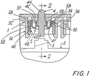 Estructura de botón pulsador para aplicaciones electrónicas, eléctricas y/o mecánicas.