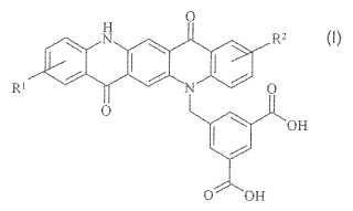 Derivados de quinacridona como sinergistas de dispersión.