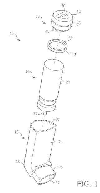 Sistema y método para monitorizar un inhalador de dosis medida.