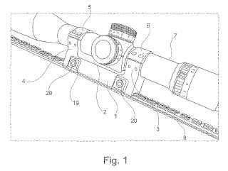 Dispositivo para la fijación de un accesorio en un arma.