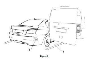 Dispositivo de asistencia en ángulo muerto para maniobra de salida de aparcamiento en batería o ángulo.