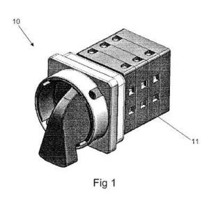 Interruptor-conmutador de levas resistente a altas temperaturas y proceso de producción de los módulos que forman la estructura del mismo.