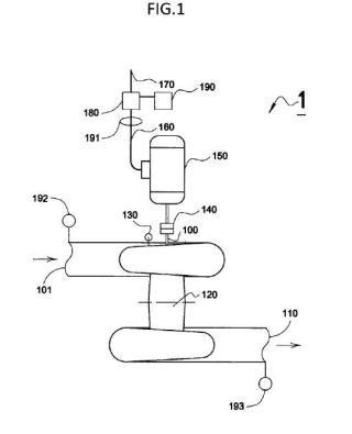 Dispositivo reductor de presión regenerativo (DRPR) y procedimiento de funcionamiento.