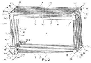 Dispositivo láser y procedimiento para marcar un objeto.