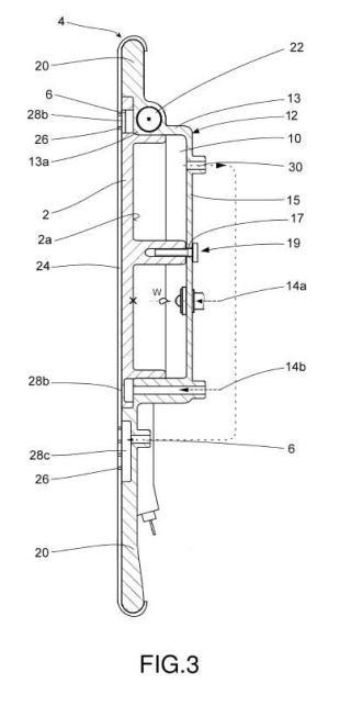 Dispositivo de planchado a vapor, plancha a vapor y estación de planchado.