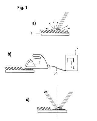 Plancha, sistema de plancha y estación de planchado a vapor y procedimiento para planchar tejidos.