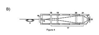 Sistema portátil de espectroscopía de plasmas inducidos por láser para análisis de sólidos sumergidos en líquidos.