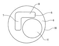 Volante de la dirección, y método de fabricación de un volante de la dirección.