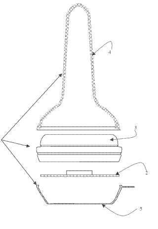 Parche dotado de propiedades electrostáticas para detección de alérgenos y de su aplicador.