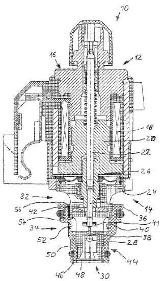 Válvula electromagnética, en particular para transmisiones automáticas.