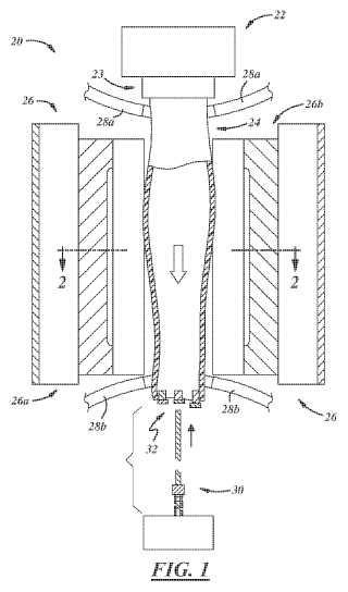 Método y aparato para la fabricación de un artículo.
