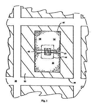 Conector de chip de circuito y método de conexión de un chip de circuito.