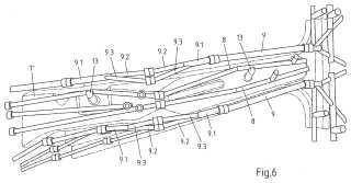 Herramienta de conformación con taladros de canal de refrigeración ramificados dentro de partes de herramienta.