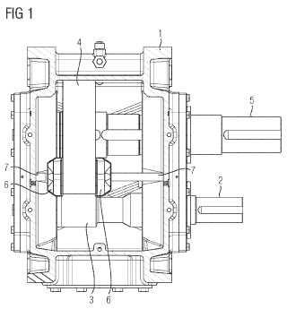 Engranaje para aplicaciones industriales.
