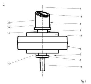 Plancha a vapor y procedimiento para montar la plancha a vapor.