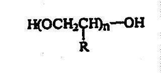 Champús anticaspa y acondicionadores que contienen polialquiolenglicoles y polímeros catiónicos.