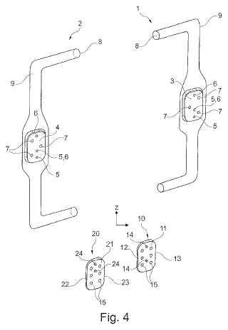 Sistema de montaje para un montaje seguro contra confusión de retrovisores exteriores de automóvil.