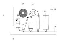 Útil y procedimiento para la fabricación de piezas de materiales compuestos fuera de autoclave.