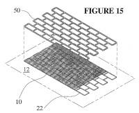 Método para aplicar un revestimiento térmicamente endurecible a un sustrato con patrones.
