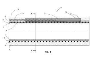 Conducción tubular flexible y procedimiento de fabricación.