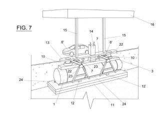 Sistema de construcción modular de una instalación de almacenamiento y dispensación de combustible.