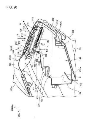 Estructura de alojamiento de vehículo tipo motocicletaa.