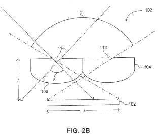 Sistema de seguimiento óptico de amplio campo de visión.