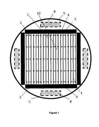 Reactor nuclear de reflector fundido.