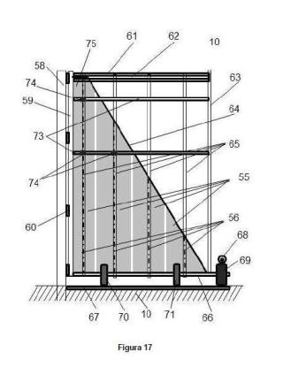 Sistema de espejos transversales en los extremos de un concentrador longitudinal de la radiación solar.