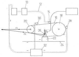 Procedimiento y dispositivo para aplicar un revestimiento sobre un recipiente de vidrio.