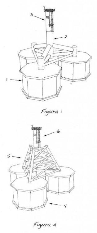 Sistema de cimentación por gravedad para la instalación de aerogeneradores offshore.
