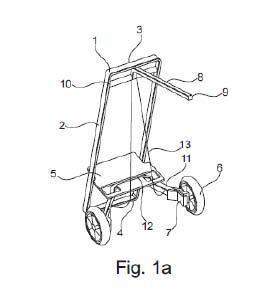 Carro modular para una bicicleta.