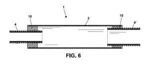 Dispositivo de amarre regulable de andamios a fachadas y/o elementos estructurales.