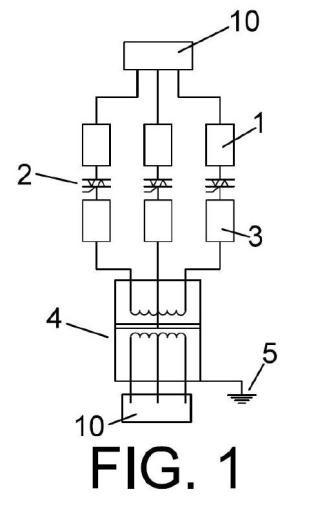 Dispositivo controlador electrónico de potencia.