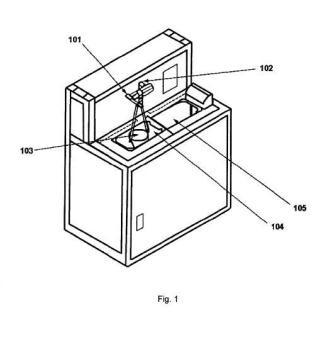 Dispositivo y procedimiento automatizado de ciclado térmico para materiales odontológicos.
