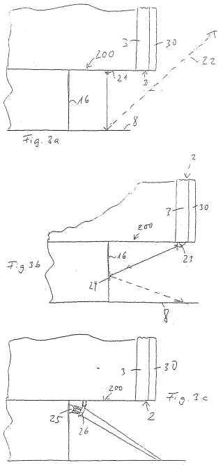 Electrodoméstico integrado en una serie de muebles con un dispositivo de representación.