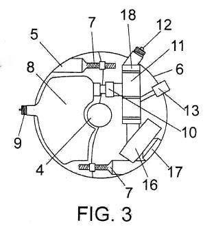 Dispositivo de regulación de la presión en neumáticos.