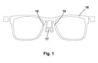 Montura para gafas.
