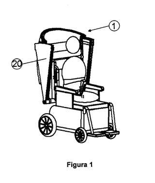Capota retráctil para sillas de ruedas motorizadas.