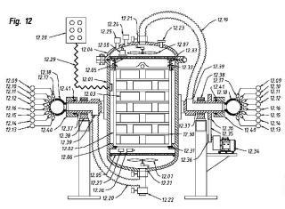 Procedimiento, dispositivo e instalación para la inducción de respiración controlada mediante sensores químicos.