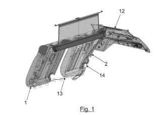 Accionador para el abatimiento sincronizado de asientos de un vehículo automóvil.