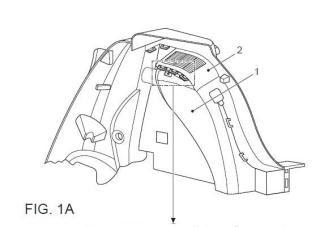 Sistema de unión para un revestimiento interior de un vehículo.